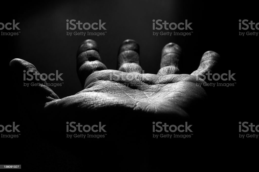 Pray for the light. royalty-free stock photo