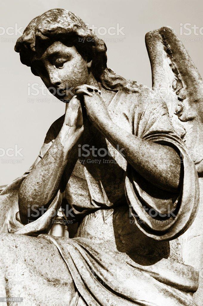 Pray for us stock photo