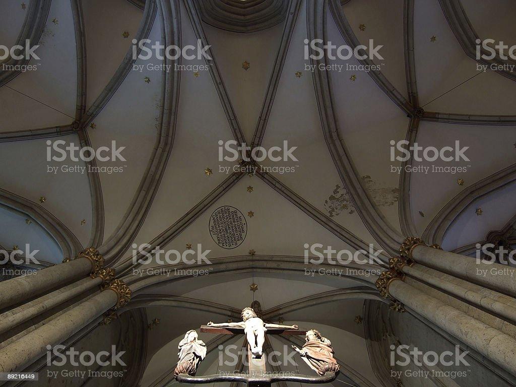 pray to heaven royalty-free stock photo