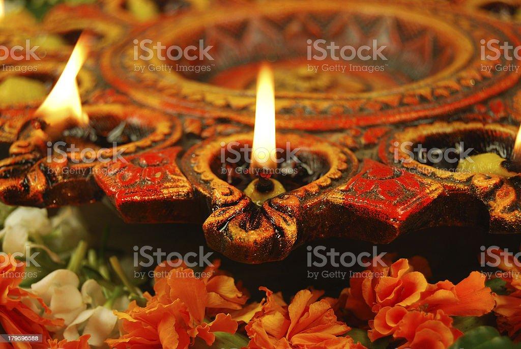 Prayer and Celebrations royalty-free stock photo