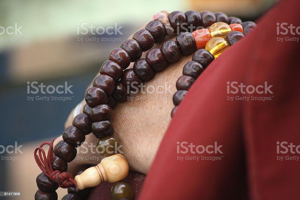 Prayer Beads royalty-free stock photo
