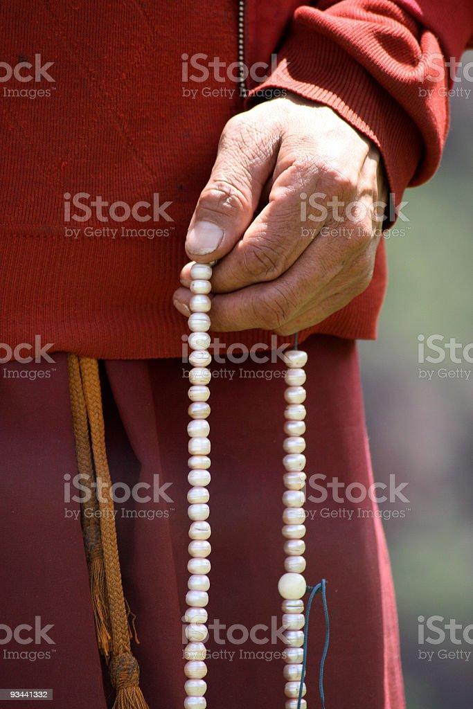 Prayer Beads stock photo