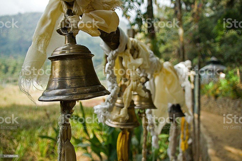 Prayer bells royalty-free stock photo