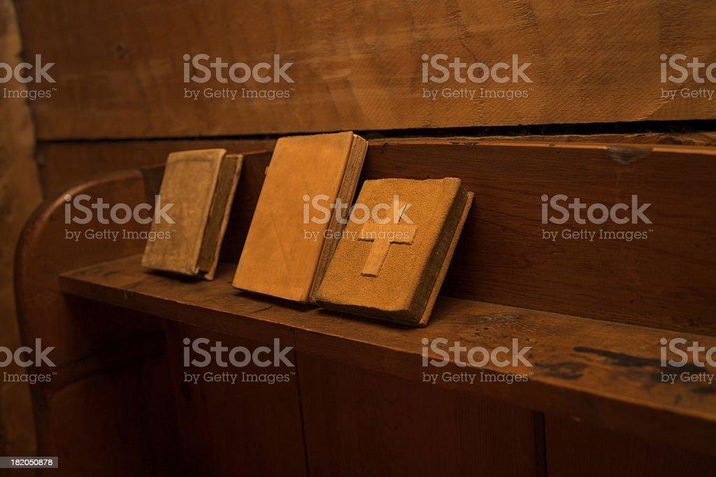 Prayer books stock photo