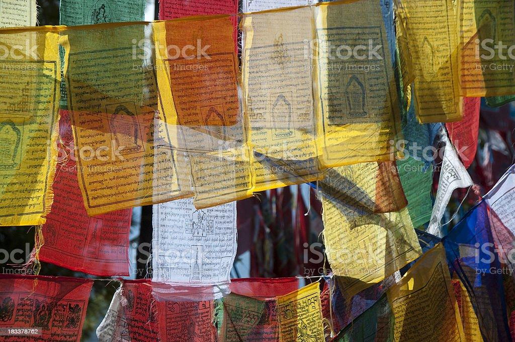 Prayer Flags stock photo