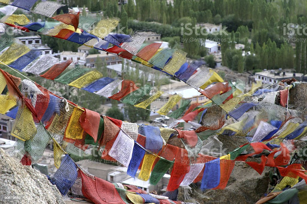 Prayer Flags royalty-free stock photo