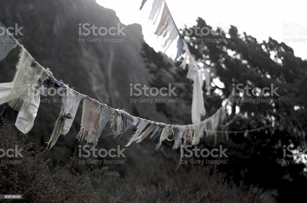 Prayer Flags royalty-free stock photo