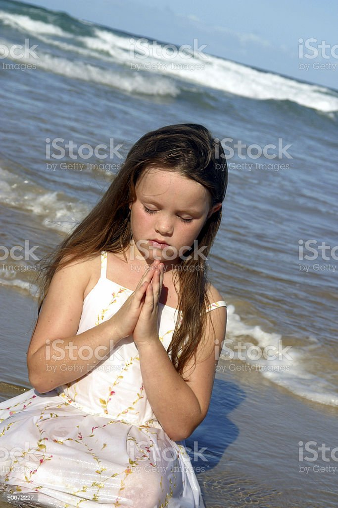 Prayer For Peace royalty-free stock photo