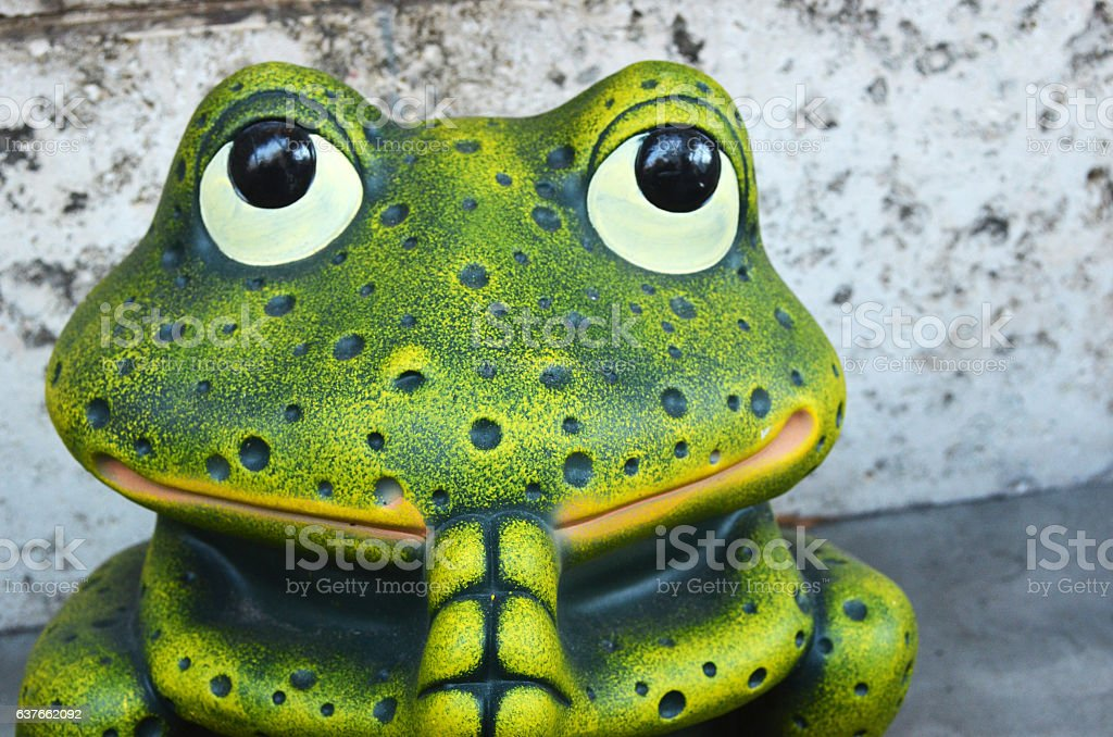 Prayer Frog stock photo