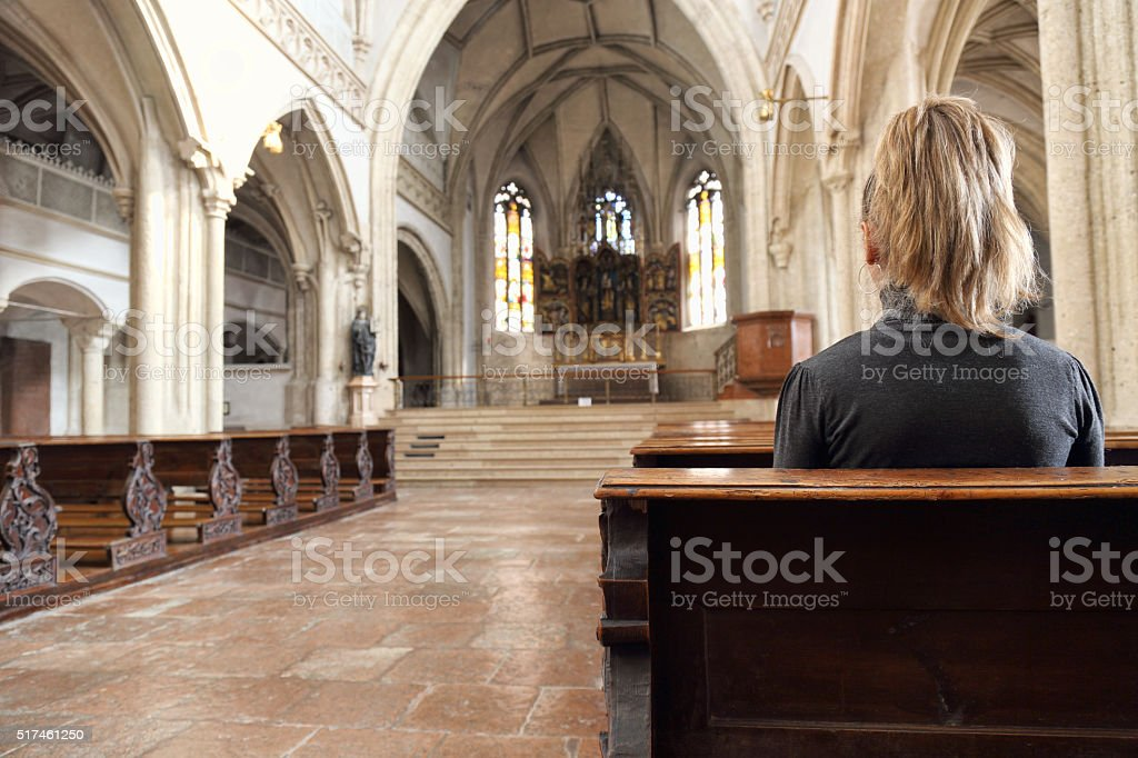 Prayer stock photo