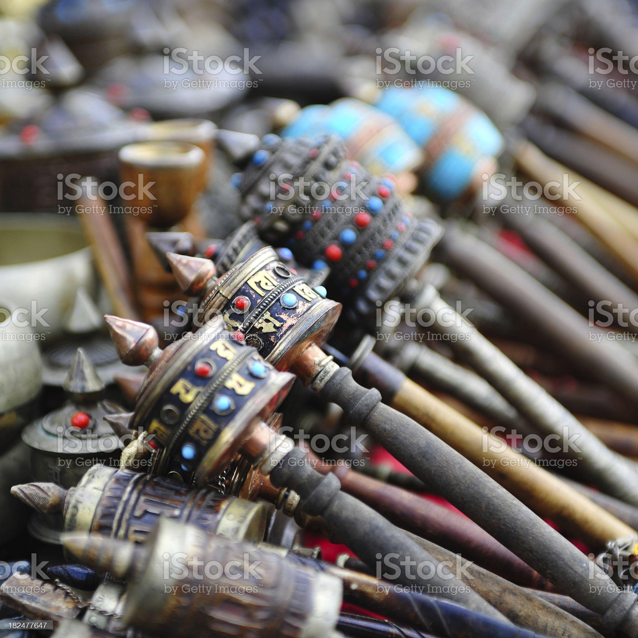 prayer weel royalty-free stock photo