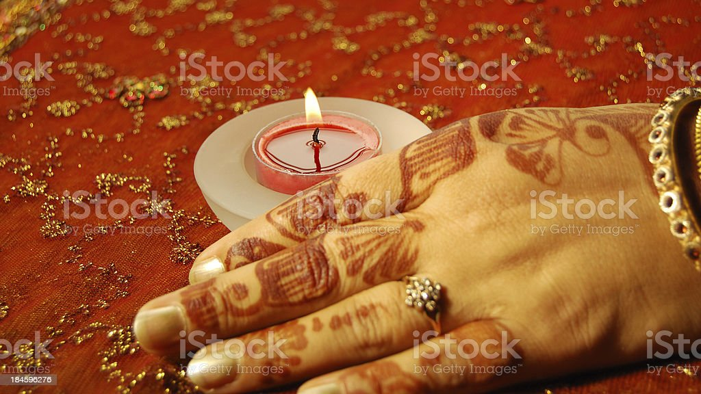 Prayer/celebrations/Inauguration stock photo