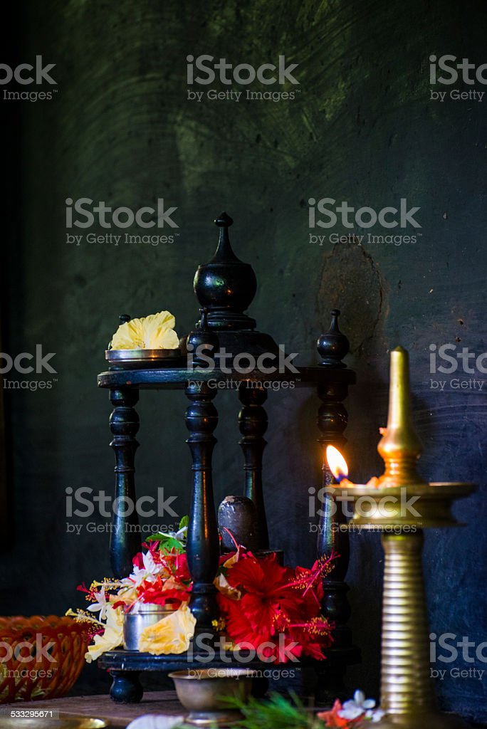 Prayers and wishes stock photo