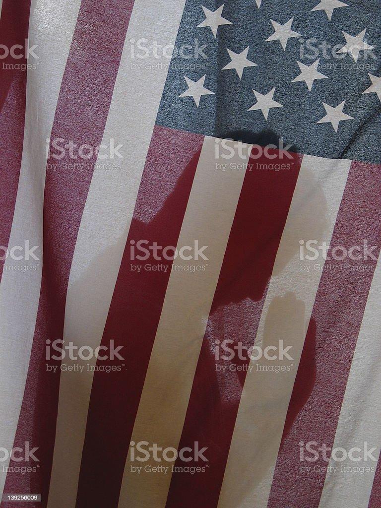 Prayers for America royalty-free stock photo