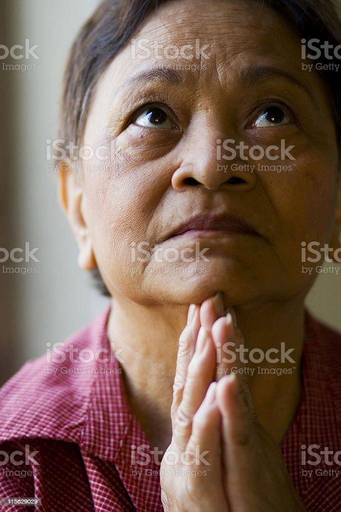 Prayers royalty-free stock photo