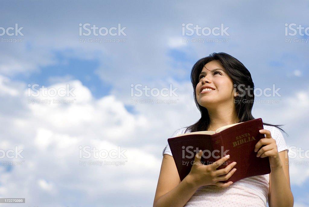 Praying 4 royalty-free stock photo