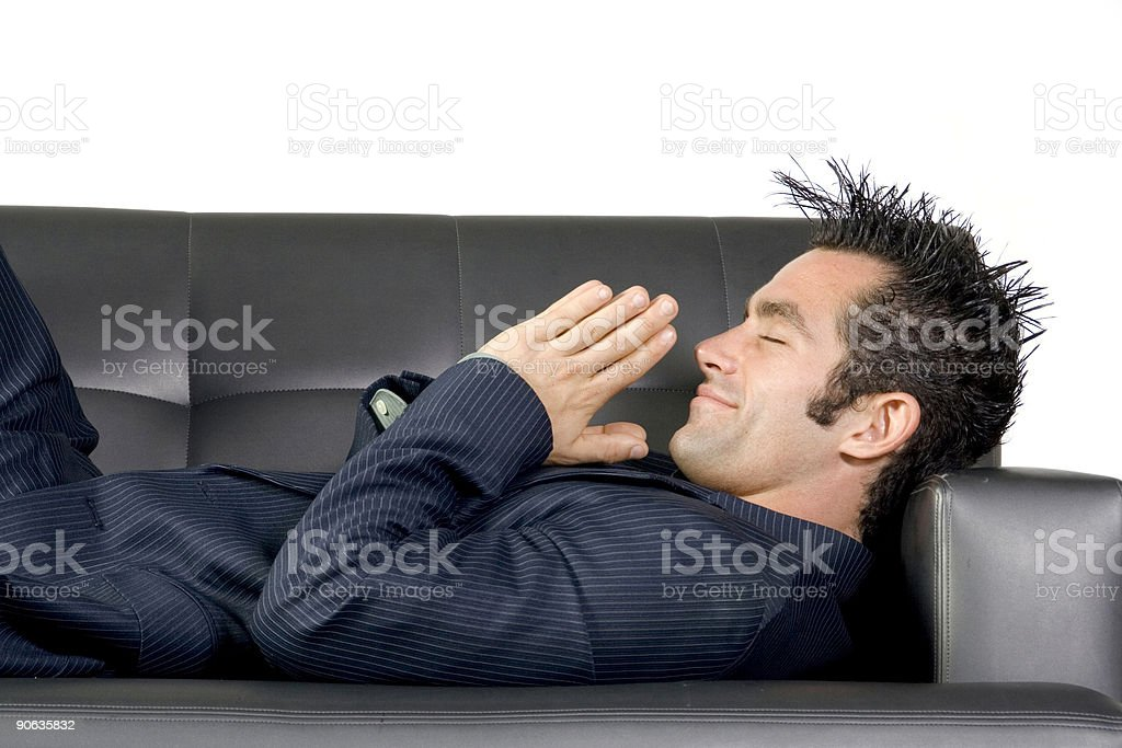 Praying for Good Business stock photo