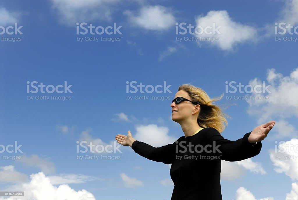 praying royalty-free stock photo