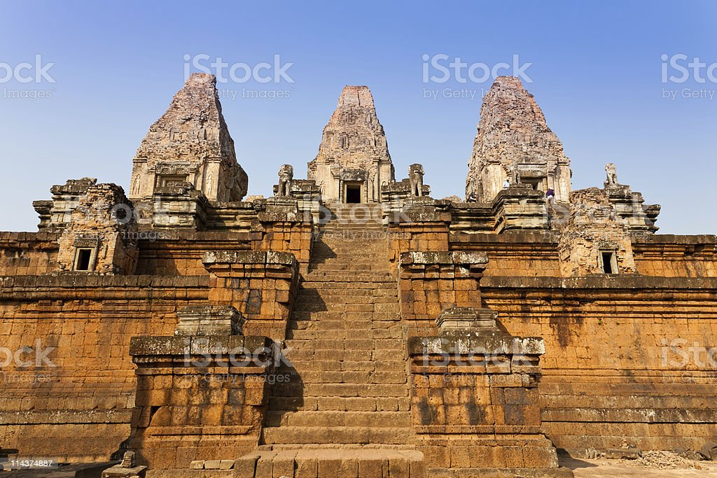Pre Rup Temple in Angkor, Cambodia royalty-free stock photo