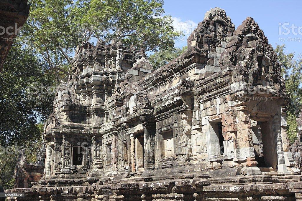 Preah Khan temple, Cambodia stock photo