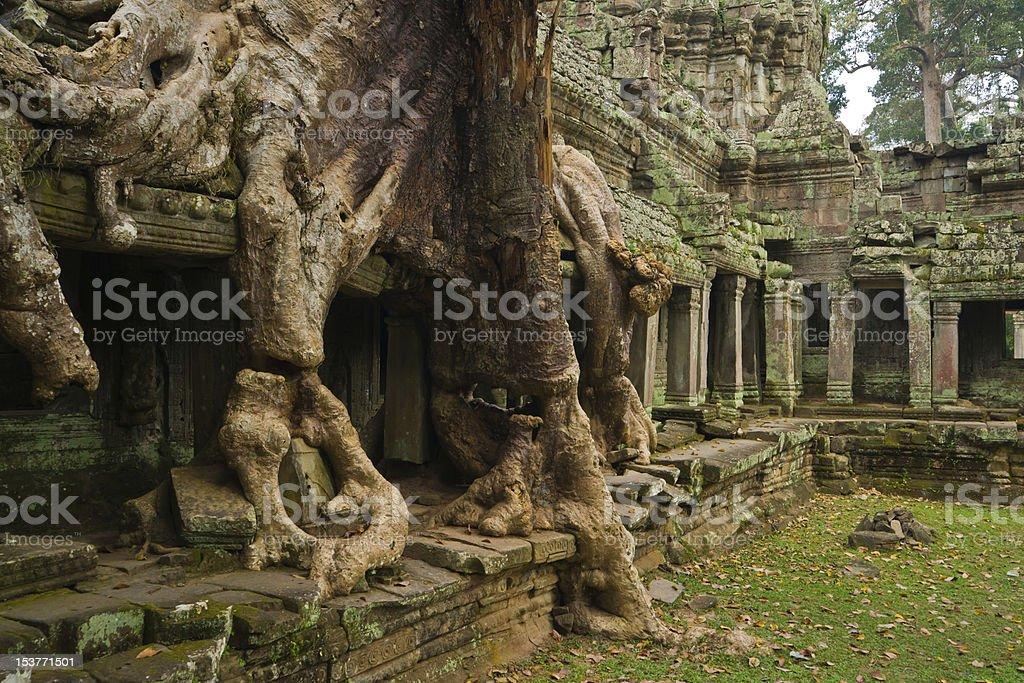 Preah Khan Temple royalty-free stock photo
