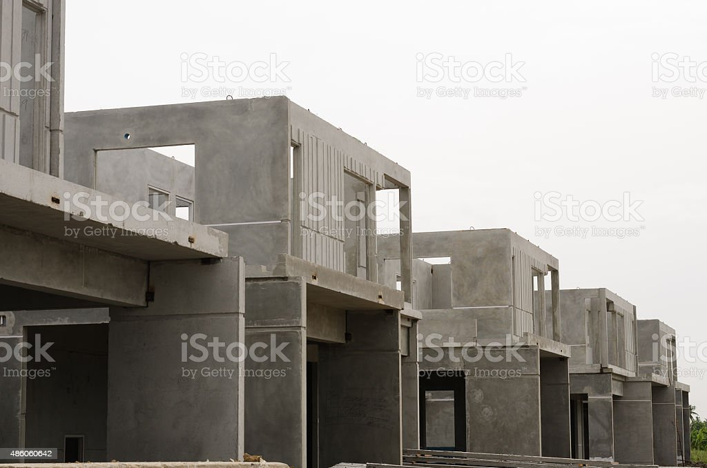 Precast Building-21 stock photo