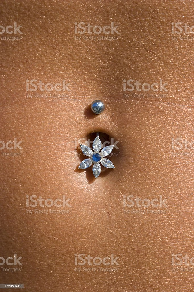 Precious Belly Button royalty-free stock photo