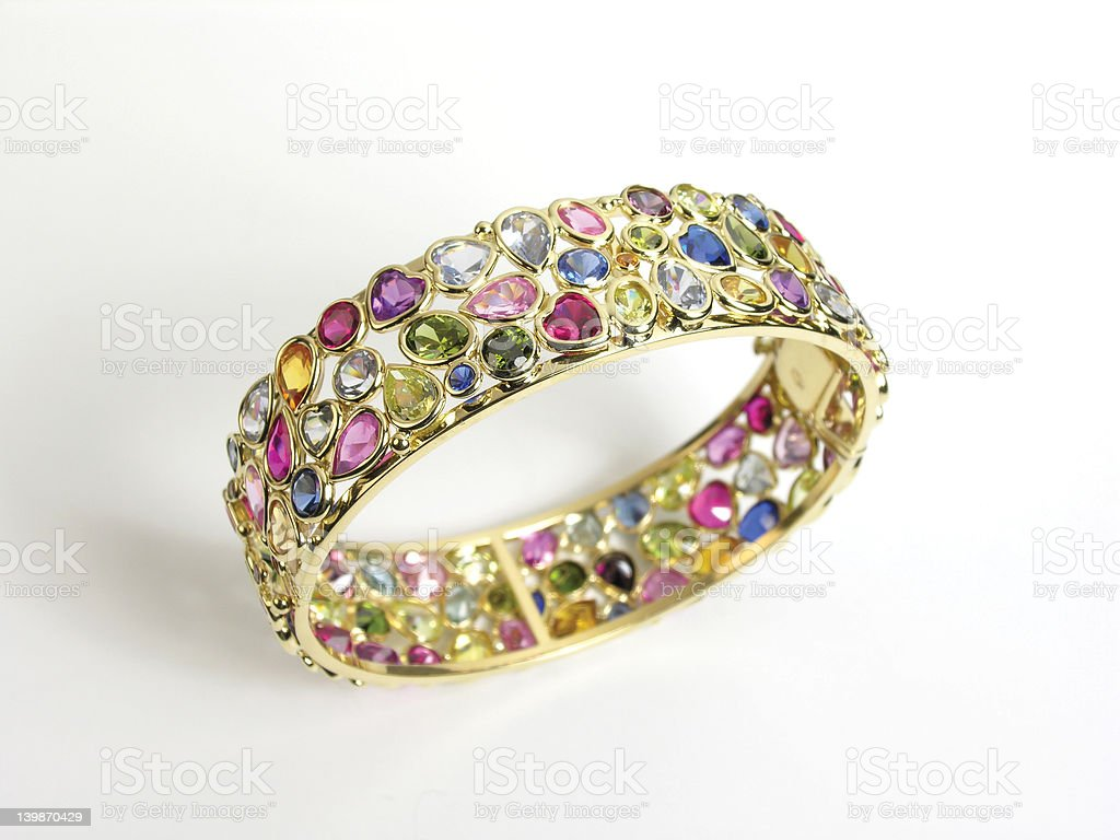 precious bracelet royalty-free stock photo