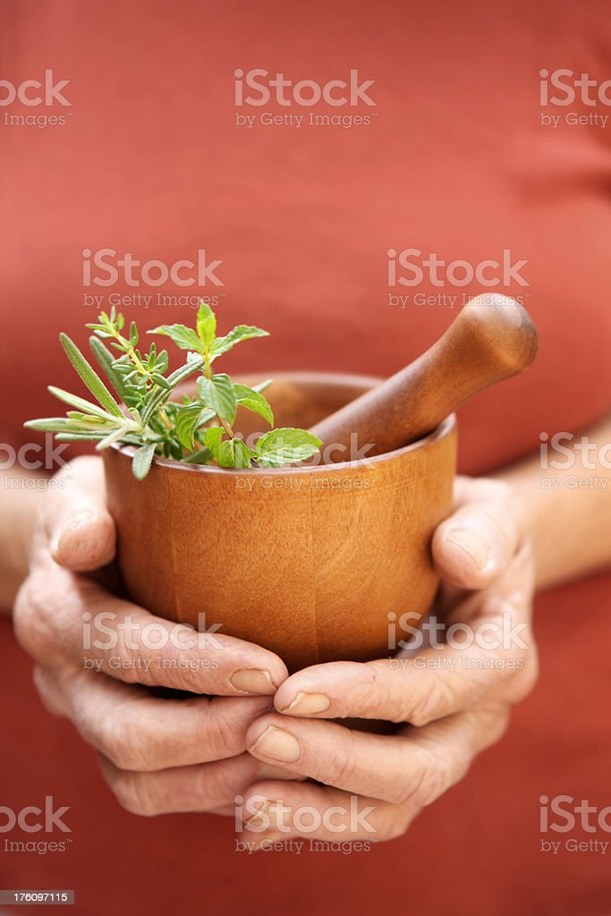 Precious Herbs royalty-free stock photo