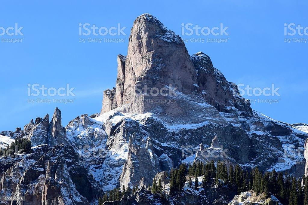 Precipice Peak stock photo