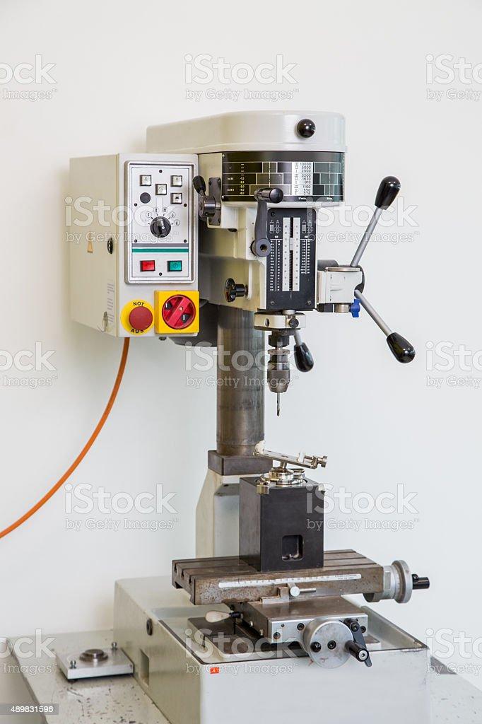 Precision drill stock photo