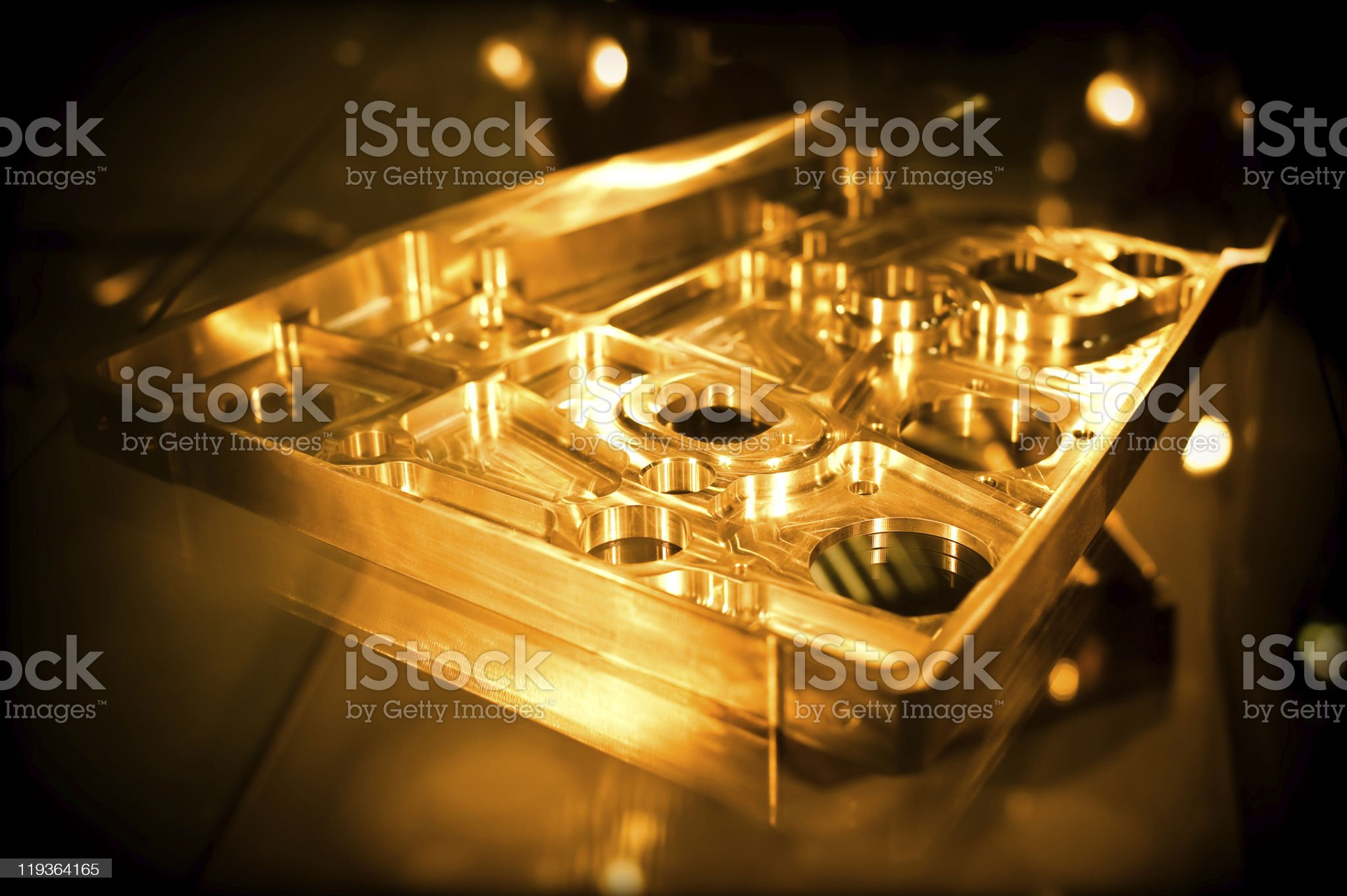 precision engineering royalty-free stock photo