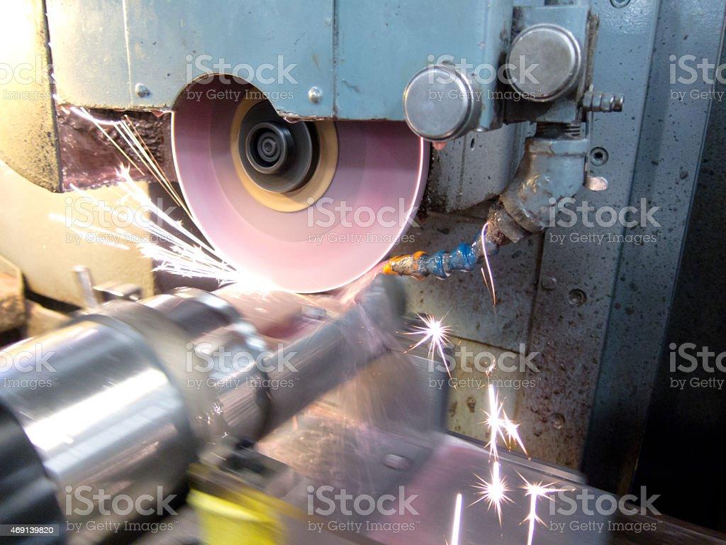 Precision Manufacturing Titanium stock photo