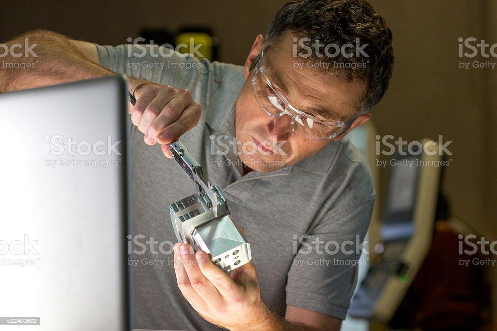 Precision Measurement Device stock photo
