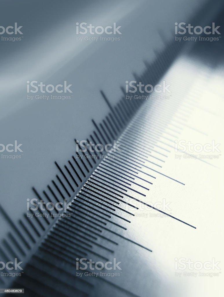 Precision measurement tool stock photo