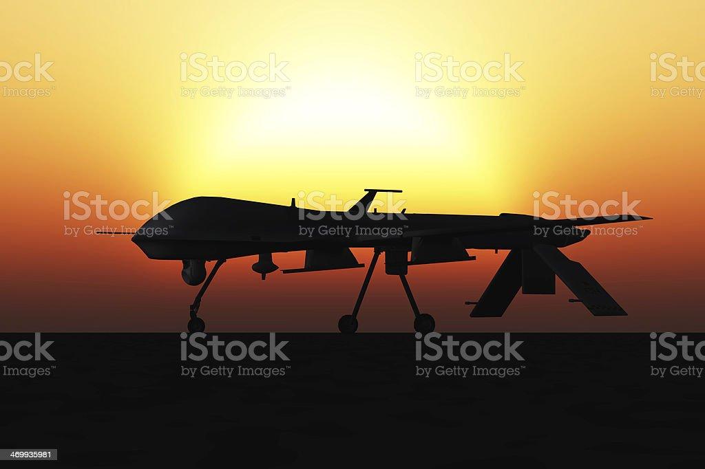 Predator Drone stock photo