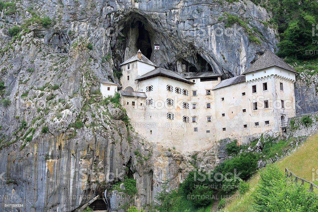 Predjama Castle, Slovenia stock photo