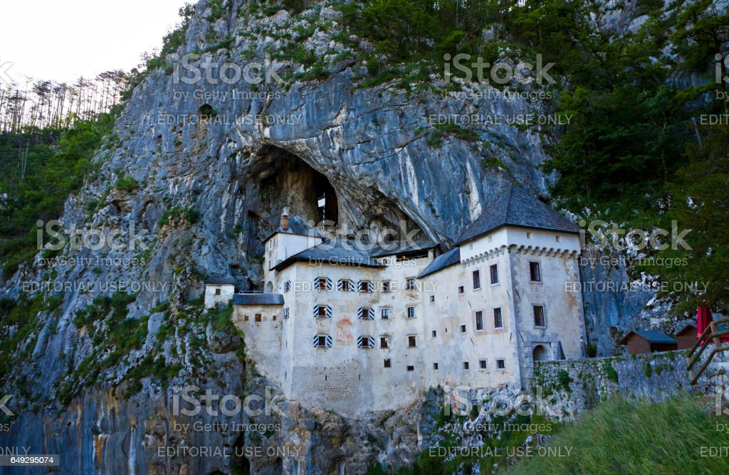 Predjama Castle, Slovenia stock photo