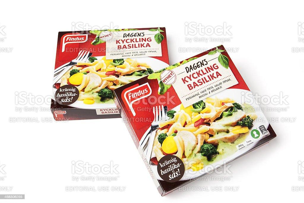 Prefab fast food stock photo