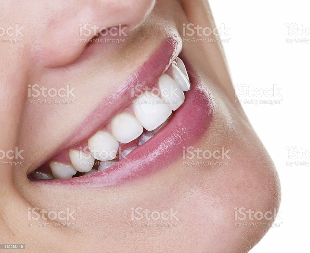 Prefect teeth stock photo