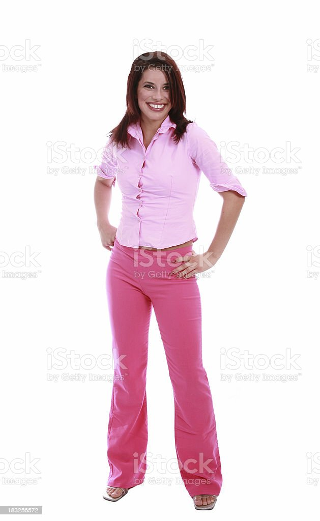 Prefectly Pink royalty-free stock photo