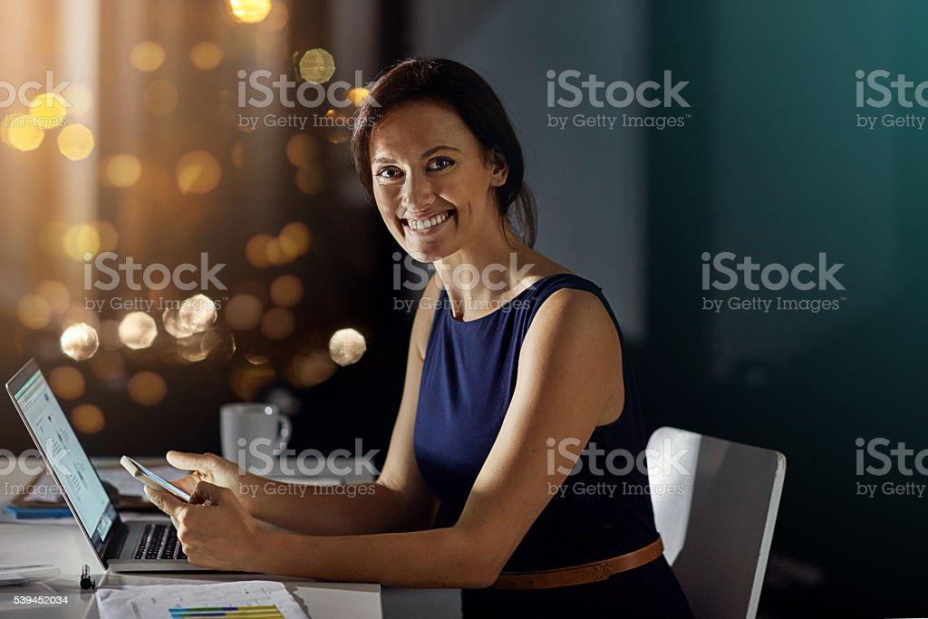I prefer working in a quieter office stock photo