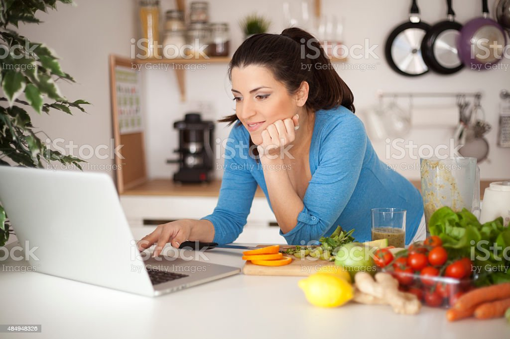 Pregnancy and nutrition stock photo