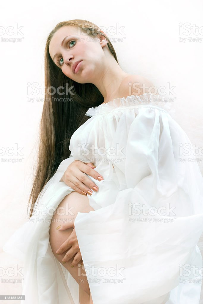 pregnancy royalty-free stock photo