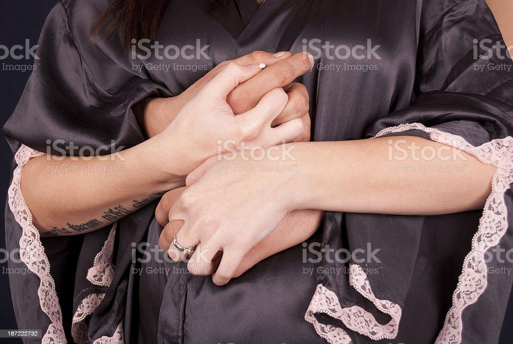El embarazo foto de stock libre de derechos