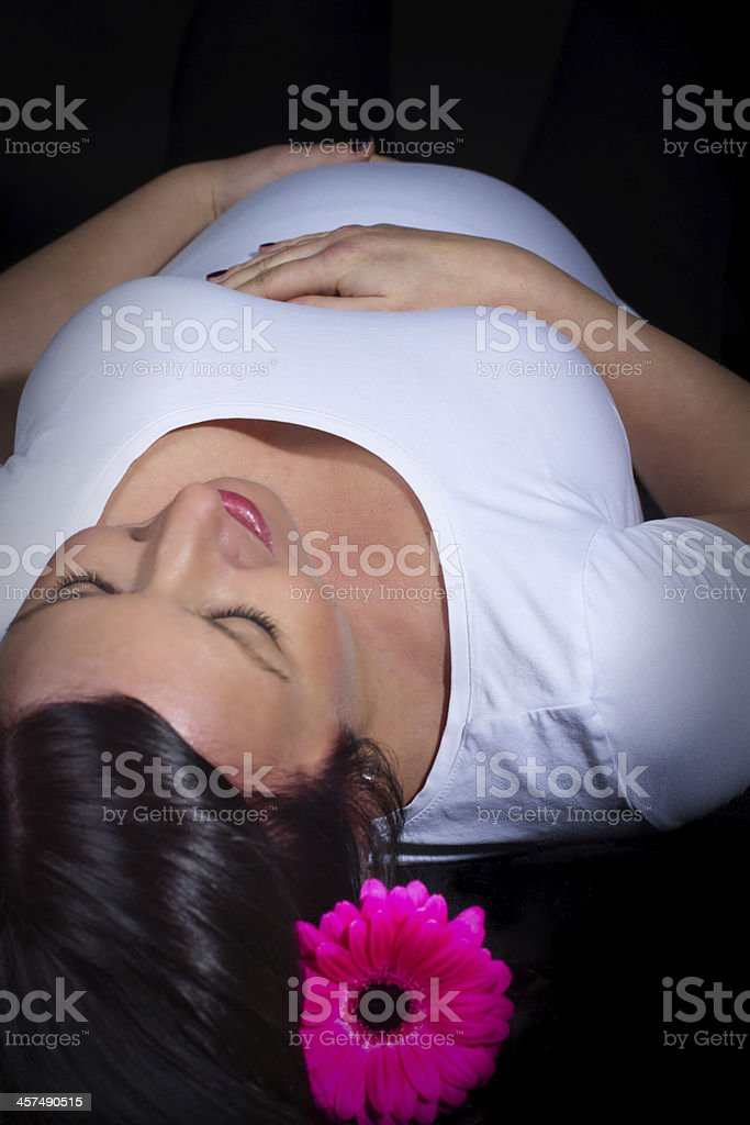 Pregnancy stock photo