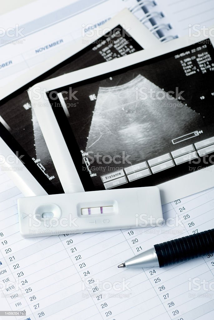 Pregnancy planning royalty-free stock photo
