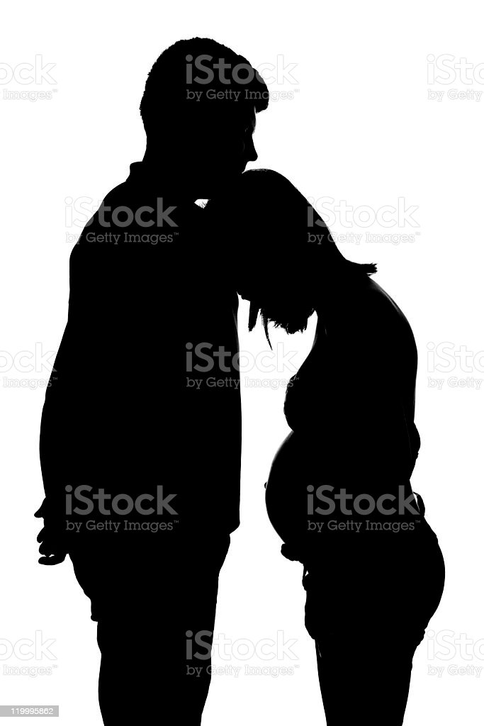Pregnancy problems royalty-free stock photo