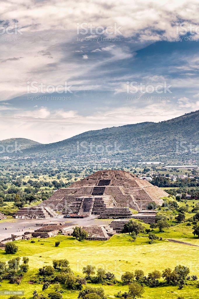 Pre-Hispanic City of Teotihuacan. Mexico stock photo