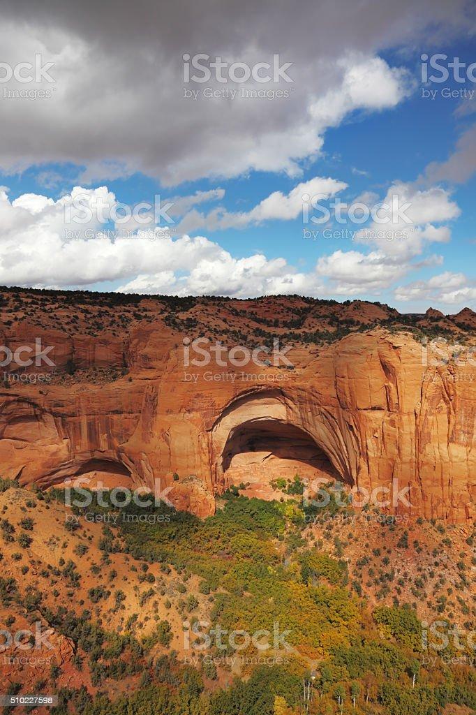 Prehistoric cave stock photo